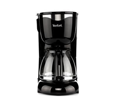 تيفال صانعة قهوة، 1000 واط، تعمل من 10 الى 15 كوب، أسود