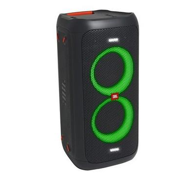 JBL PartyBox100, Bluetooth speaker with dynamic light show, Portable, Black