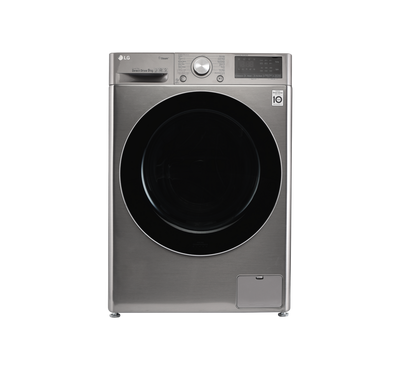 LG 9 kg Front Load Fully Automatic Washer with AI DD,Silver