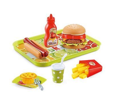 مجموعة تقديم وجبات سريعة للأطفال