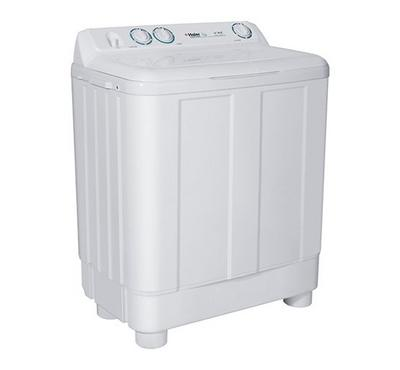Haier Twin Tub Semi Automatic Washing Machine , 10kg, Plastic Cabinet, White