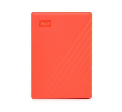 Westren Digital My Passport, 2TB, Red