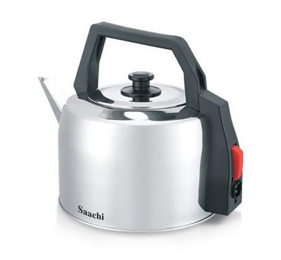 Saachi Electric Kettle, 3L, Stainless Steel
