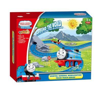 لعبة قطار مع سكة للأطفال