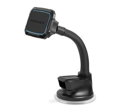 Promate 360 Degree Cradleless Magnetic Car Mount, Black and Blue