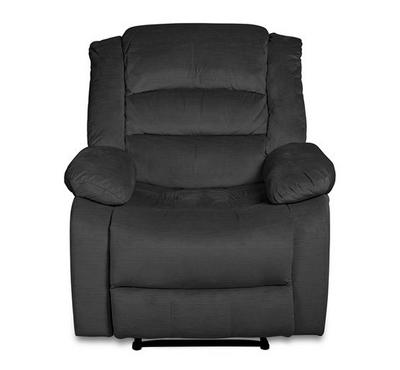 Swivel Recliner Chair, Push Back, Dark Green