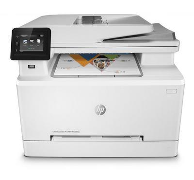 HP Color LaserJet Pro M283FDW Printer, Print, copy, scan, fax, White