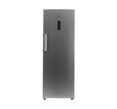 Haier Upright Freezer, 7.8 Cu.ft., 222 Ltrs, Inverter Compressor, Silver