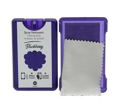 Muvit Life Kit Spray Screen Cleaner,20ML, Blackberry