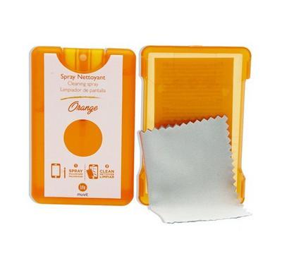 Muvit Life Kit Spray Screen Cleaner,20ML, Orange