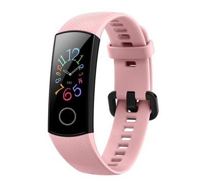 HONOR Band 5, 24.1mm,Sport Band,Coral Pink