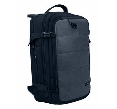 Promate, Full Featured Travel Carry-On Backpack, Grey