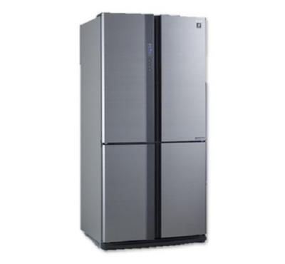 Sharp French Door Refrigerator, for Dors,724L, Inverter Compressor, Silver.