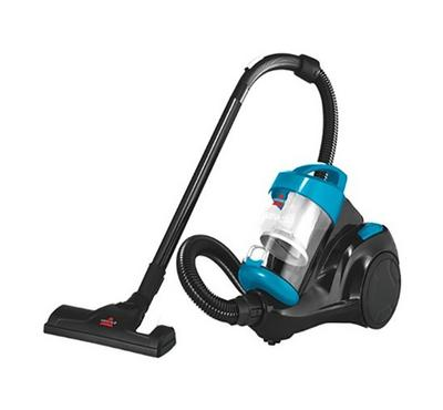 Bissell Canister Vacuum Cleaner, Bagless, Compact, 2.5L, 1500W. Blue