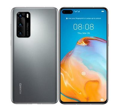 Huawei P40,5G, 128GB, Silver Frost