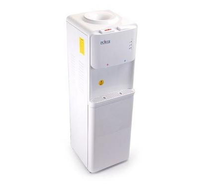Power Water Dispenser, Floor Standing , Heating and Cooling Function, White