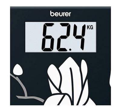 Beurer Personal Scale, Glass. Load Bearing 180Kg