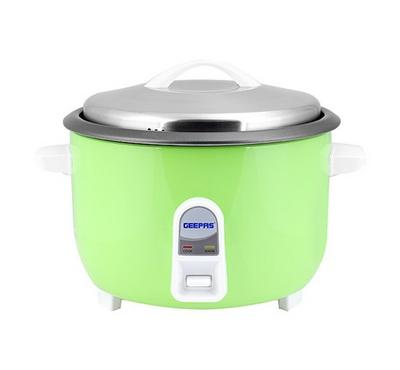 Geepas  Electric Rice Cooker,4.2L, 1600W, Green&Silver