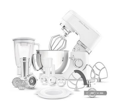 Sencor 4.5L Kitchen Machine Stand Mixer With Meat Grinder 1000W White.