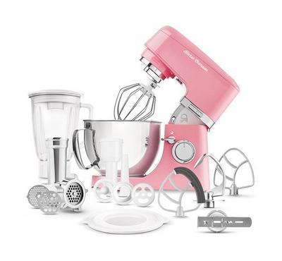Sencor 4.5L Kitchen Machine Stand Mixer With Meat Grinder 1000W Red