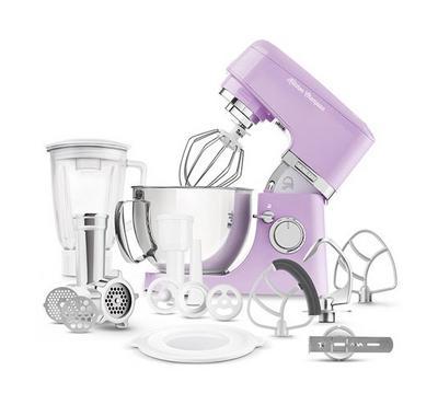 Sencor 4.5L Kitchen Machine Stand Mixer With Meat Grinder 1000W Violet