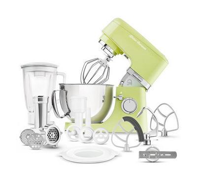 Sencor 4.5L Kitchen Machine Stand Mixer With Meat Grinder 1000W Green
