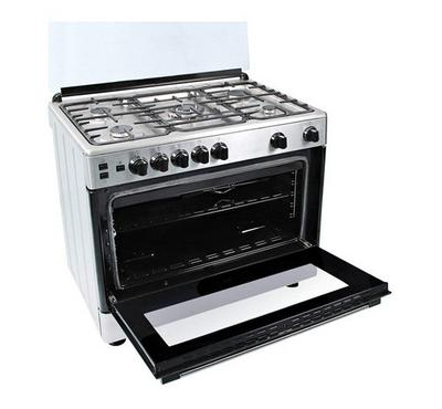BEKO 90X60 Freestanding Cooker , 5 Gas Burner, Cast Iron , Full Safety, Inox.