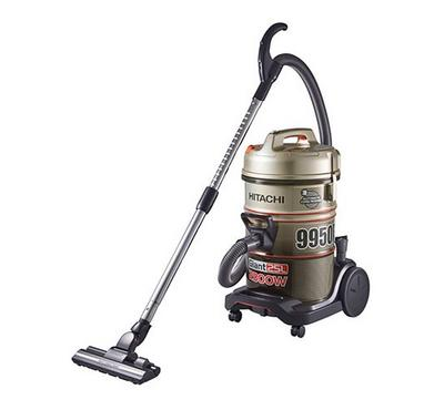 Hitachi Drum Type Vacuum Cleaner 25L, 2300W,Champagne