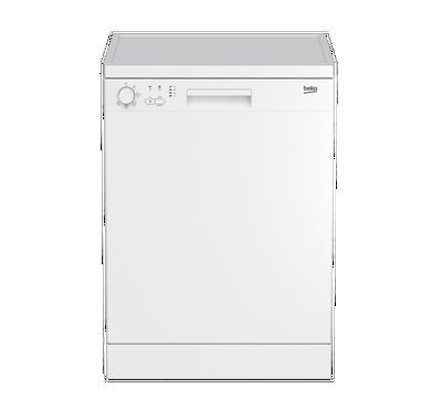 بيكو غسالة اطباق 13 مكان تخزين، 5 برامج، أبيض