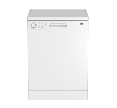 Beko Free Standing Dish Washer, 15 Place Settings , 8 Programes, White.