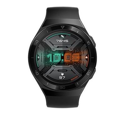 هواوي ساعة جي تي 2 إي، 46 ملم، ستانلس ستيل، أسود