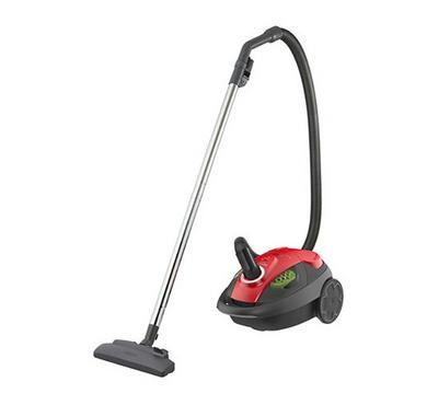 Hitachi Canister Vacuum Cleaner, 4.5L, 1800W, Swivel, Brilliant Red