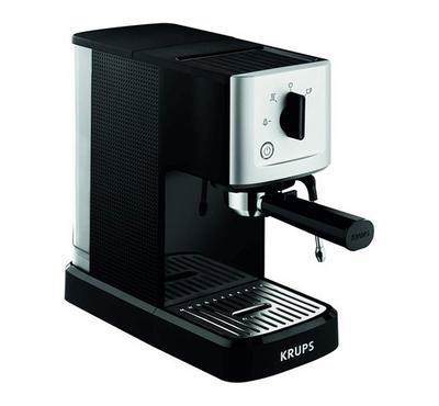 كروبس ماكينة صنع قهوة الإسبريسو، 1500 واط، أسود