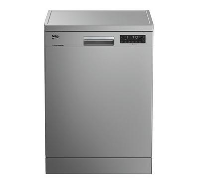Beko Free Standing Dish Washer, 15 Place Settings , 8 Programes, Silver.