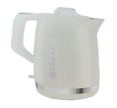 Moulinex 1.7L Kettle, 2400 W, Stainless Steel Base,White.