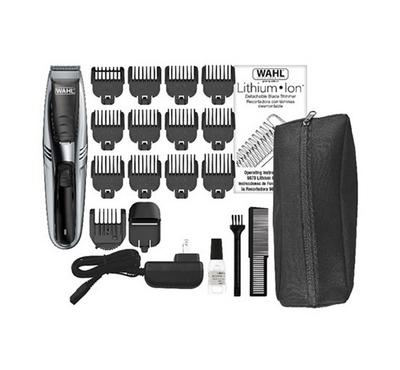 Wahl 2in1 Vacuum Stubble and Beard Trimmer Cord/Cordless, Lithium