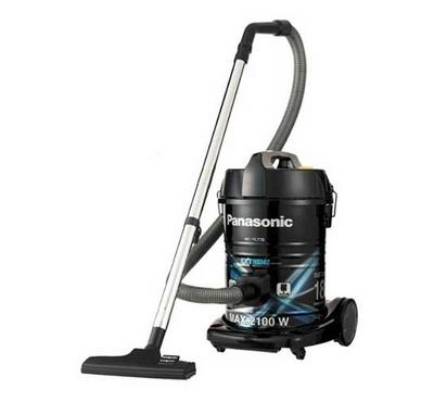 Panasonic Drum Vacuum, Detachable Drum, 2100W, 18L,Black & Blue