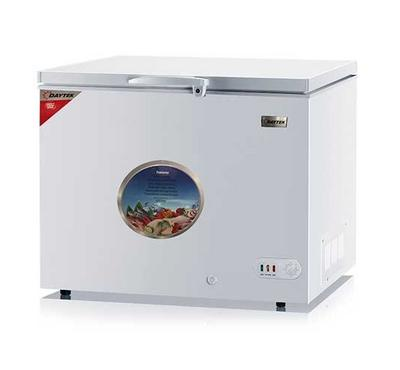 Daytek 304L Chest Freezer, Single Door, Lock & Key, White.