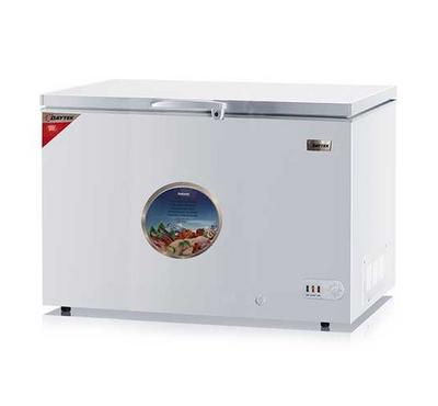 Daytek 383L Chest Freezer, Single Door, Lock & Key, White