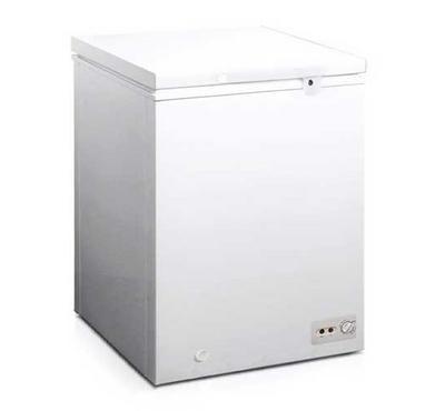 Frego Chest freezer 5 Cu.ft - 142L, Fast Freeze,  Lock & key, White