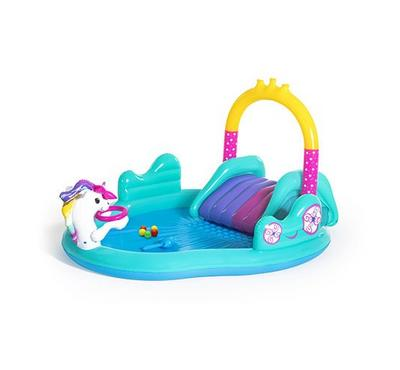 Bestway, Magical Unicorn Carriage Play Center
