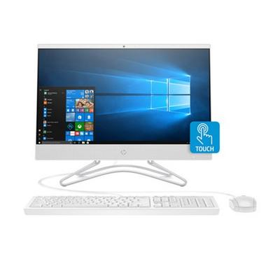 HP 22, AIO Desktop PC Snow, 21.5 Inch Touch, Core i5, 8GB RAM, 1TB, White