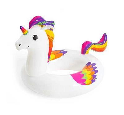 Bestway, Fantasy Unicorn Swim Ring 119Cm X 91Cm