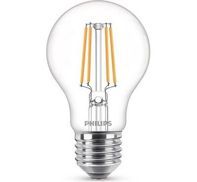 Philips LED Bulb Classic 6W Warm , 3000K, A60, E27, White