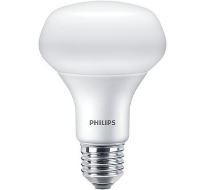 Philips LED Spot Bulb ,10W Coolday Light, 6500K, White