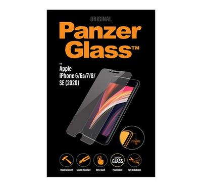 PanzerGlass Screen Protector iPhone SE 2020, Clear