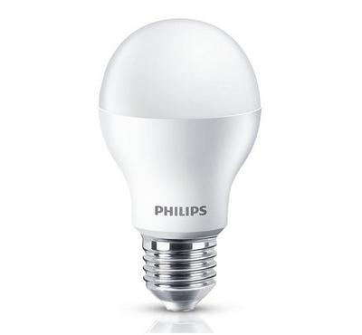 Philips 13W LED Bulb, 3000K, E27, White