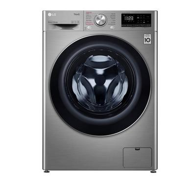LG Front Load  Washer 9kg, Dryer 6kg Steam function, Stainless Silver