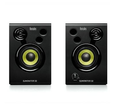 Hercules DJMonitor 32, 2 x 15 w, active monitoring speakers