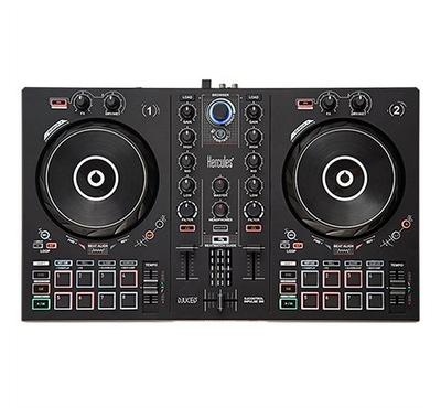 Hercules DJControl Inpulse 300, DJ controller with USB, Software and tutorials included, Black